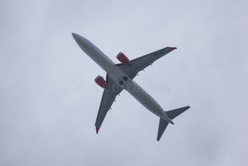 Hs-LSH Boeing 737 MAXIMUM 9 stock afbeeldingen