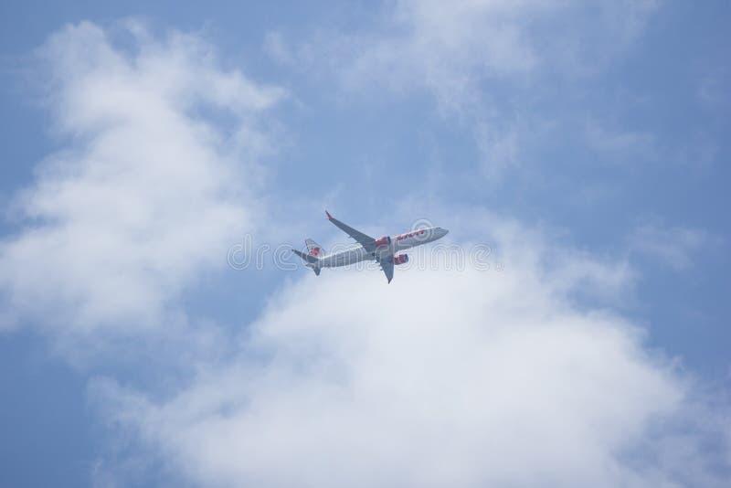 Hs-LSH Boeing 737 MAXIMUM 9 stock foto's