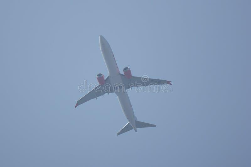 Download Hs-LSH Boeing 737 MAXIMUM 9 Van De Thaise Luchtvaartlijn Van De Leeuwlucht Redactionele Stock Foto - Afbeelding bestaande uit luchthaven, lucht: 114226993