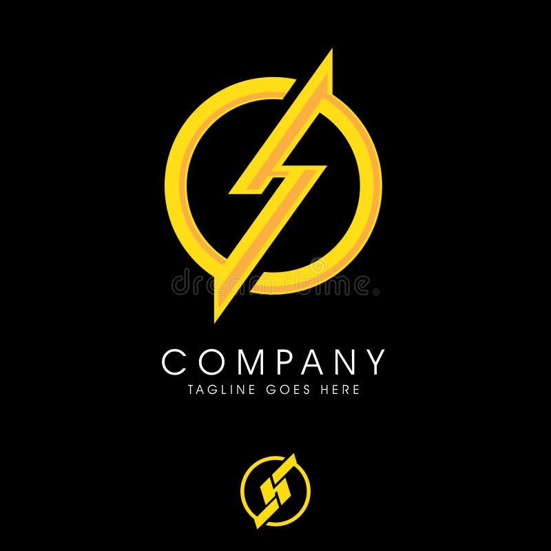 HS or SH monogram logo. vector. Set royalty free illustration