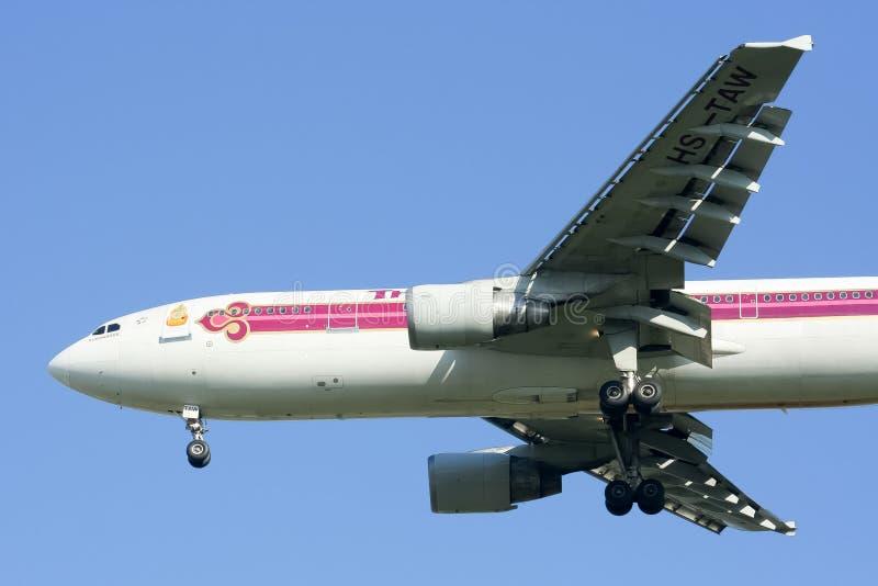 HS-TAW Airbus A300-600R of Thaiairway