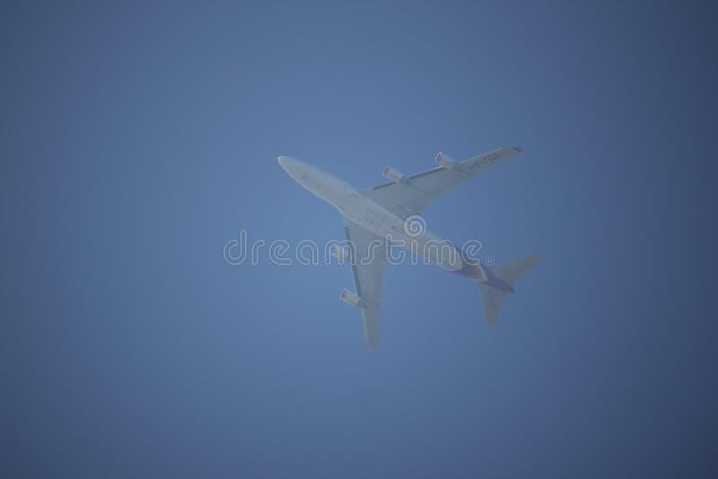 Hs-TGG Boeing 747-400 van Thaiairway stock afbeelding