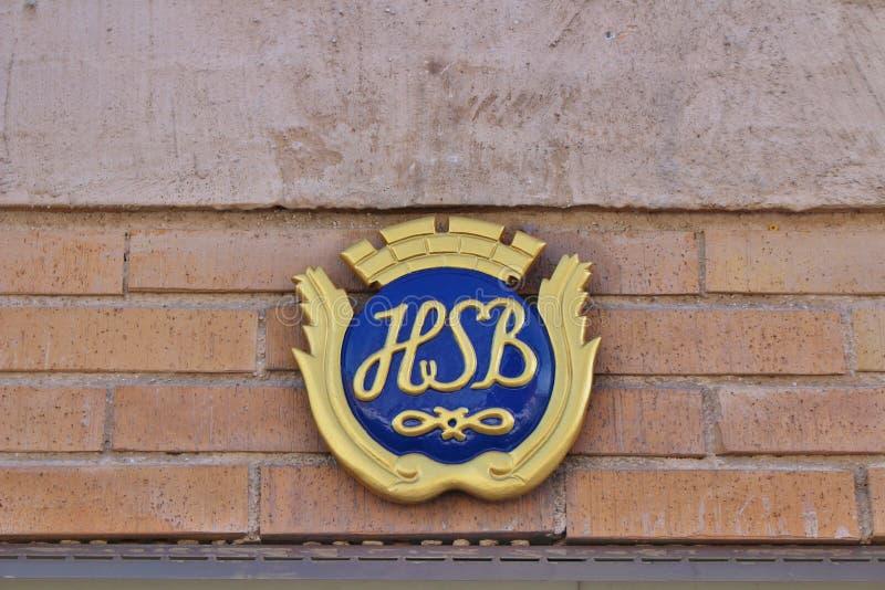 HSB-tecken arkivbilder