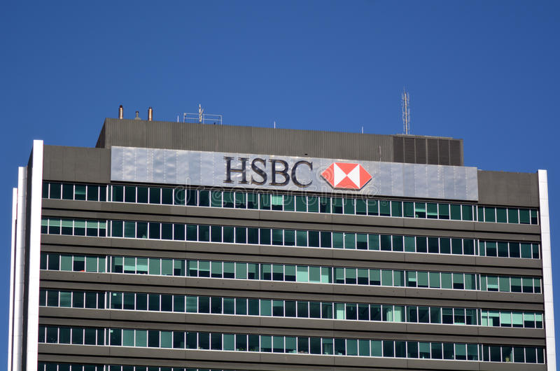 HSBC-Bank lizenzfreies stockfoto
