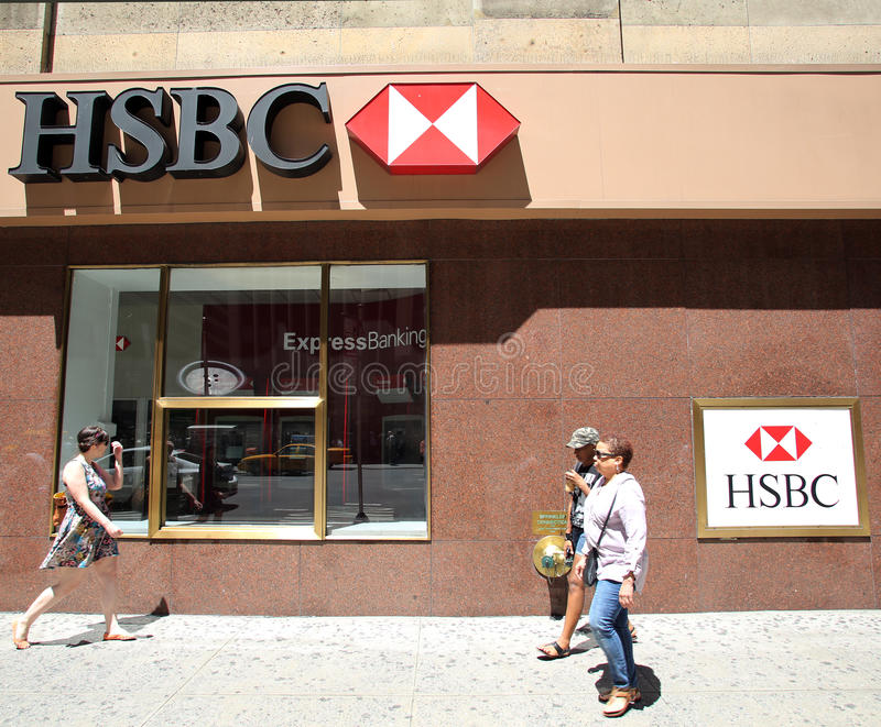 HSBC-Bank stockfotos