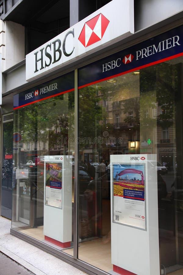 HSBC haben Bankkonto lizenzfreies stockfoto