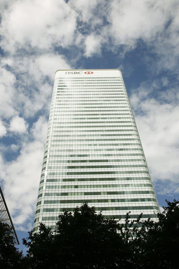 HSBC-Hauptviertelgebäude lizenzfreie stockbilder