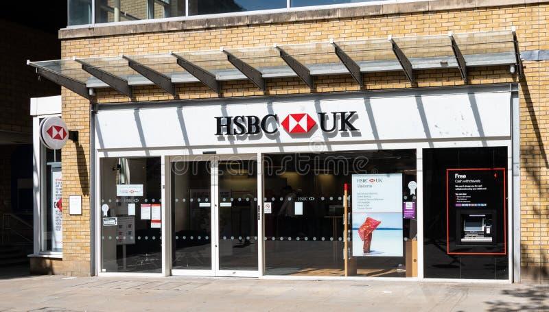 HSBC Przechuje Swindon obraz stock