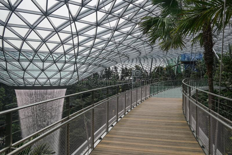 Jewel Changi Airport royalty free stock photography