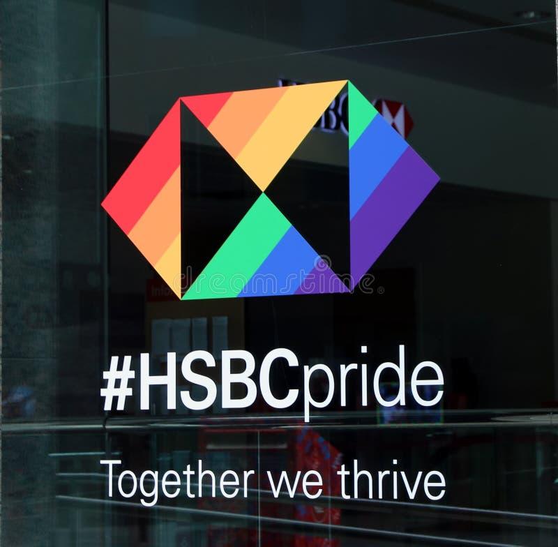 HSBC Szczyci się, Toronto zdjęcia stock