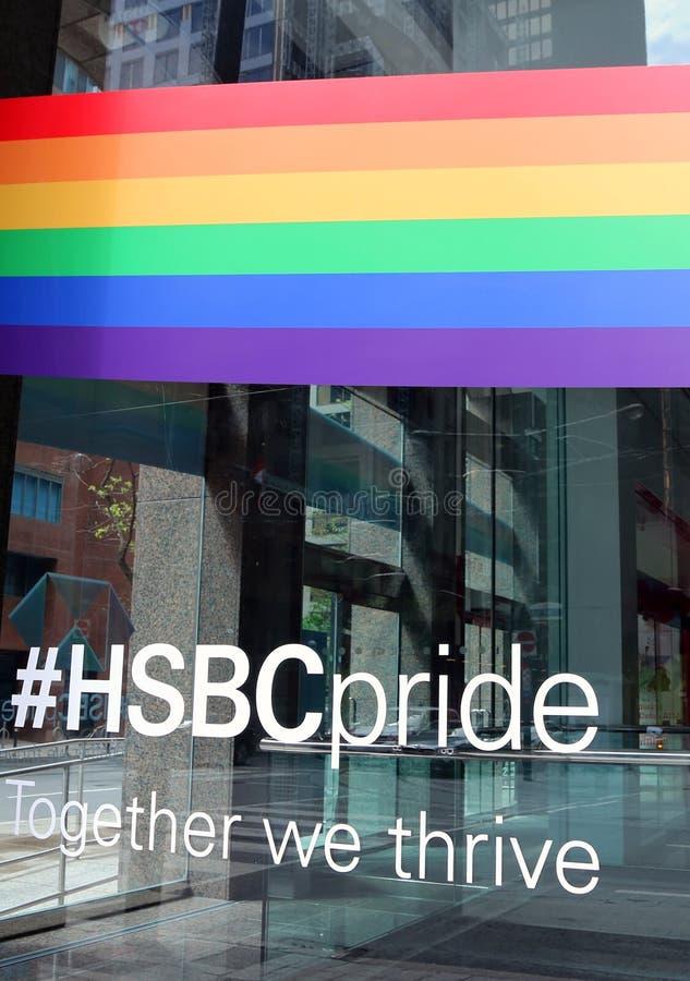 HSBC Szczyci się, Toronto obraz stock