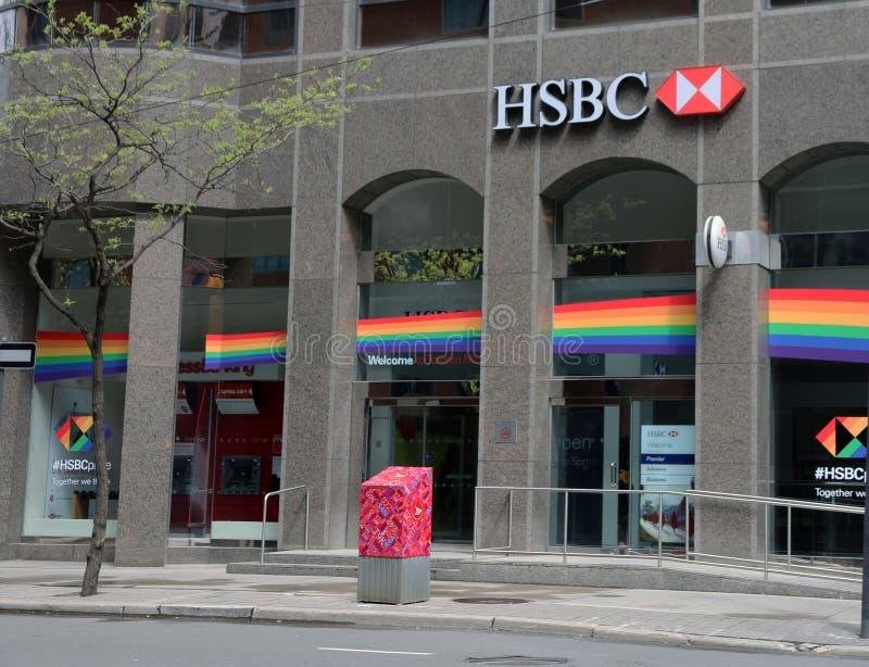 HSBC Szczyci się, Toronto obraz royalty free