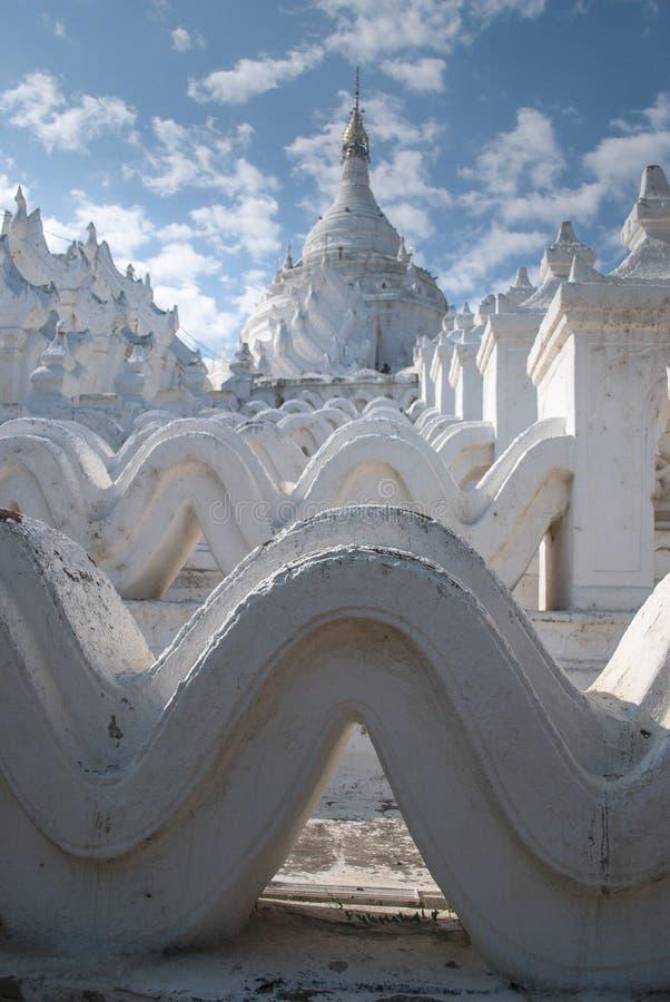 Hsinbyume塔Mingun缅甸 库存图片