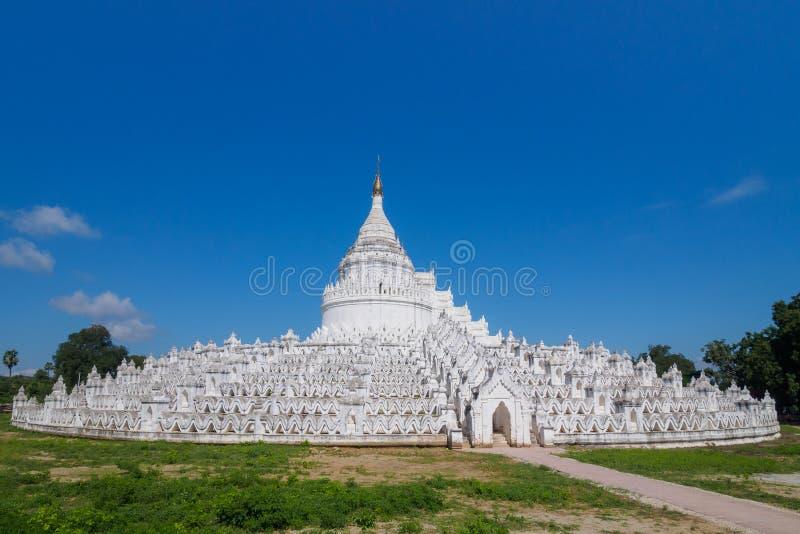Hsinbyume Myatheindan pagod royaltyfri foto