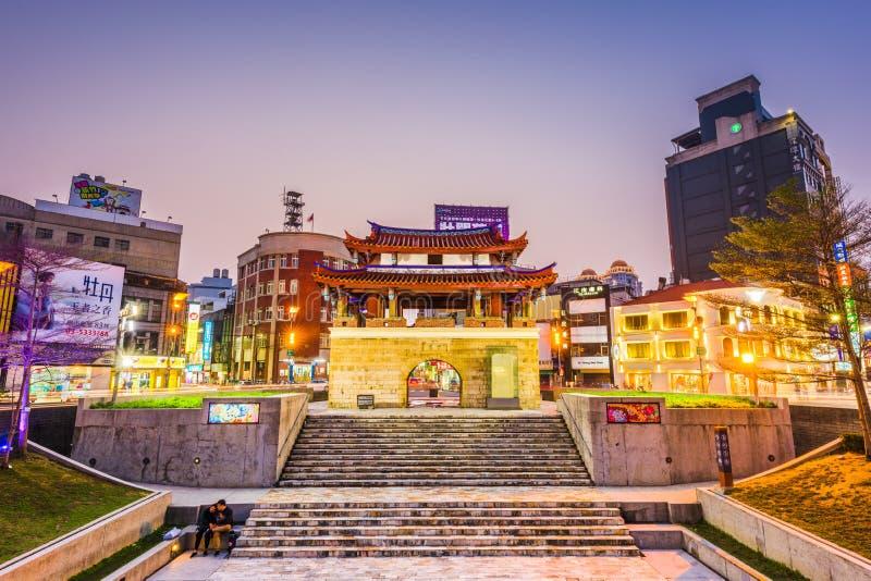 Hsinchu, paysage urbain de Taïwan images stock