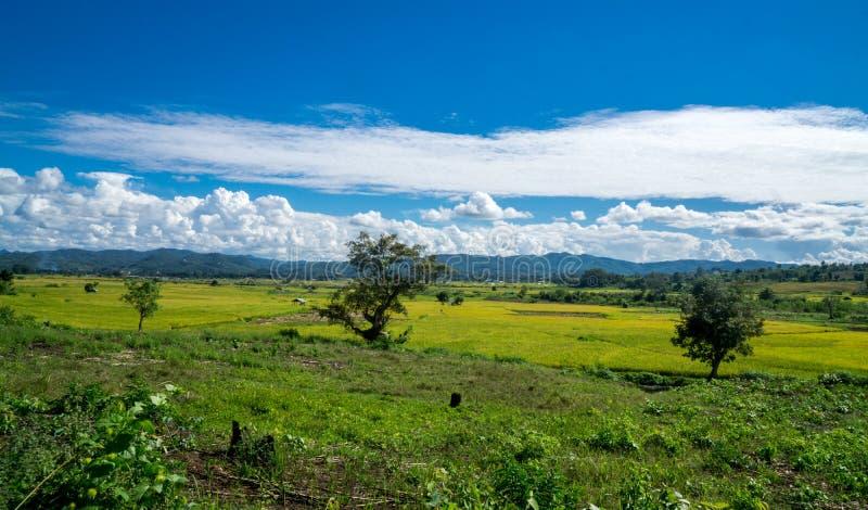 Hsipaw το Μιανμάρ στοκ εικόνες
