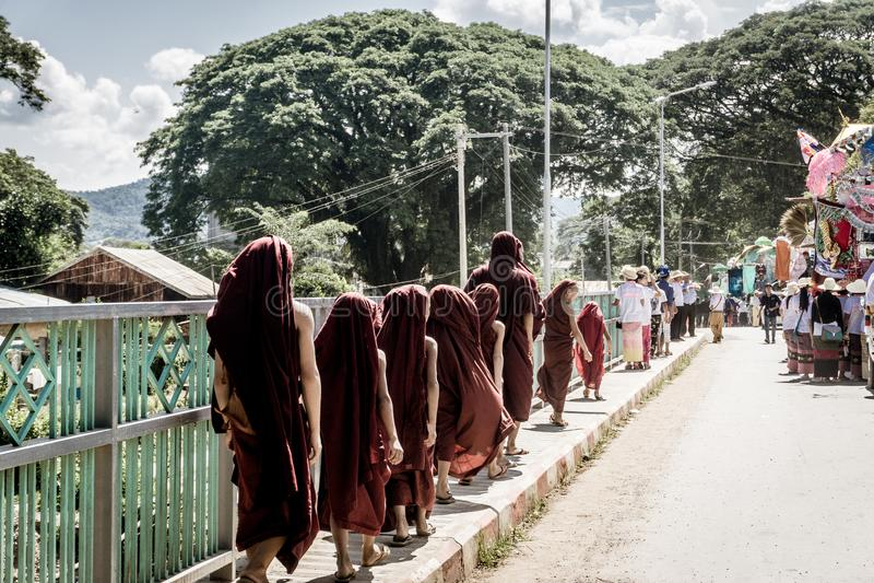 Hsipaw, Myanmar image stock