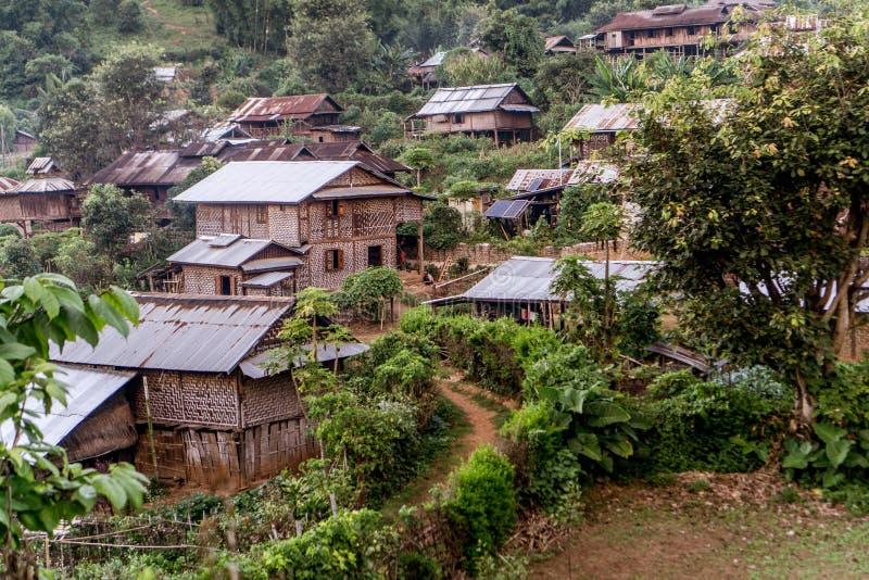 Hsipaw, Myanmar stockbild