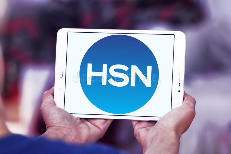 Hsn Home Shopping Network Logo Editorial Stock Photo Image Of