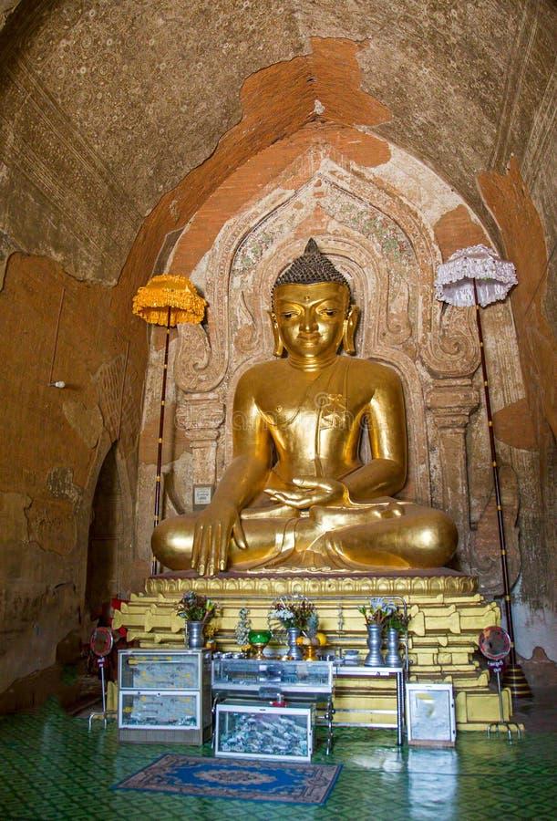 Htilomillio Будда, Bagan, Мьянма стоковое изображение