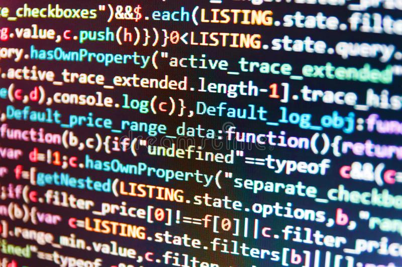 HTML5 в редакторе для развития вебсайта Руководители проекта работают новая идея стоковые изображения