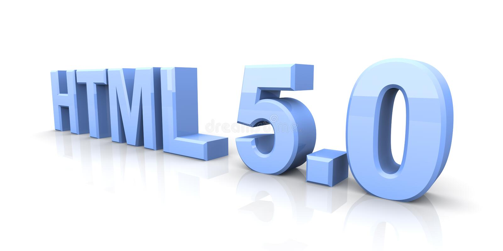 Download HTML 5.0 stock illustration. Illustration of isolated - 18920494