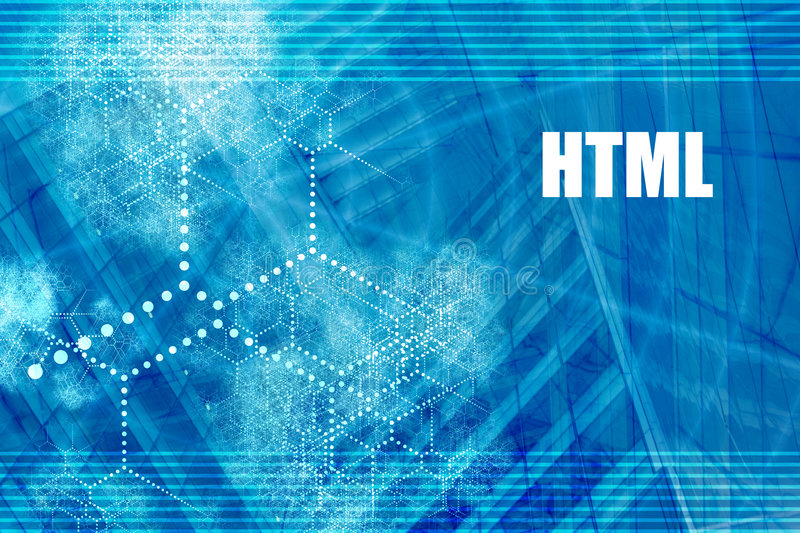 HTML illustrazione di stock