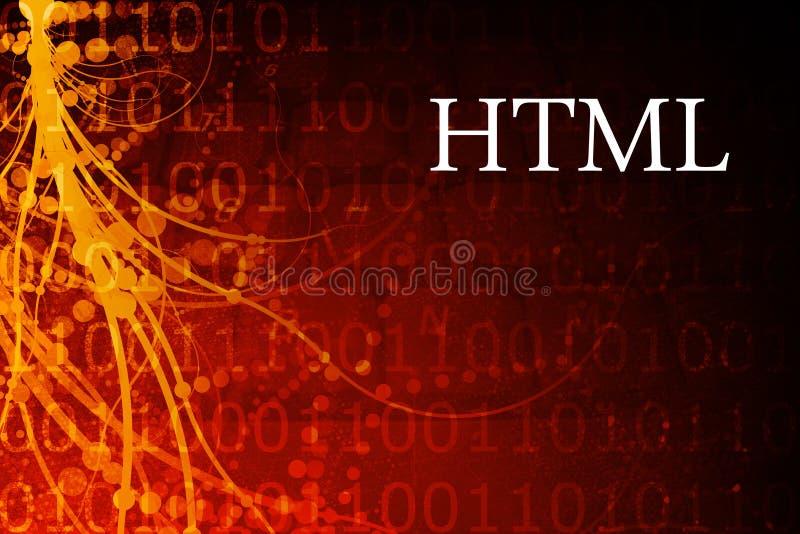 HTML ilustração do vetor