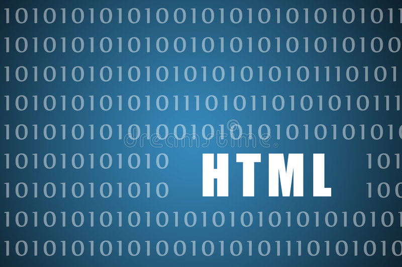 HTML stock illustration