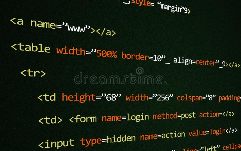HTML-code inzake pagina