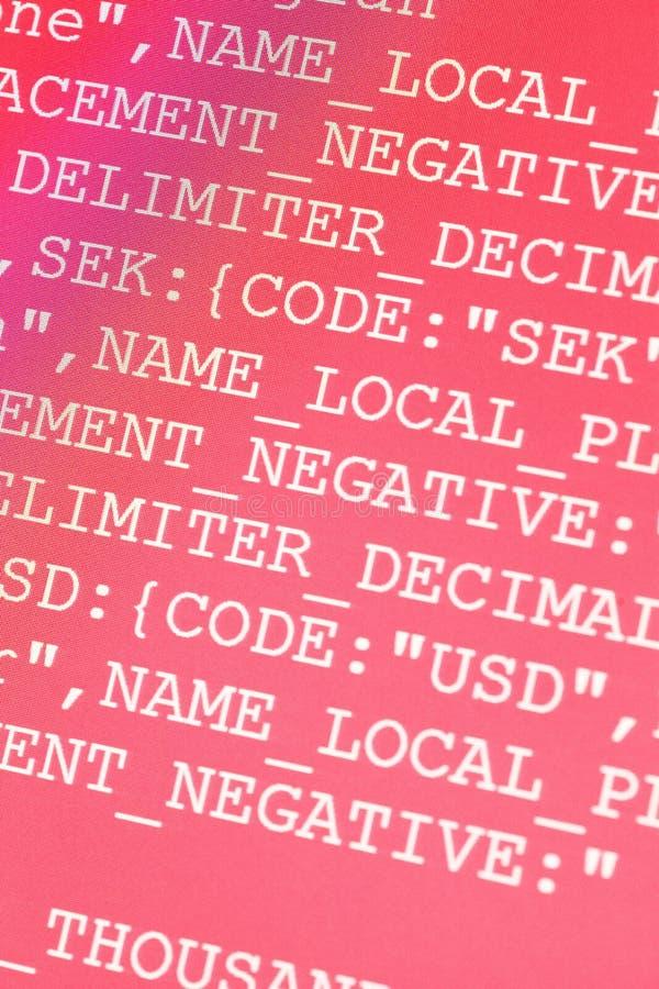HTML-Codes stockbild