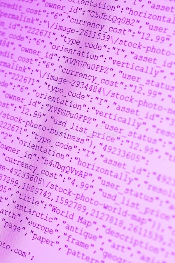 HTML-Codes lizenzfreie stockbilder