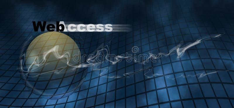 http互联网监控程序万维网万维网 库存例证