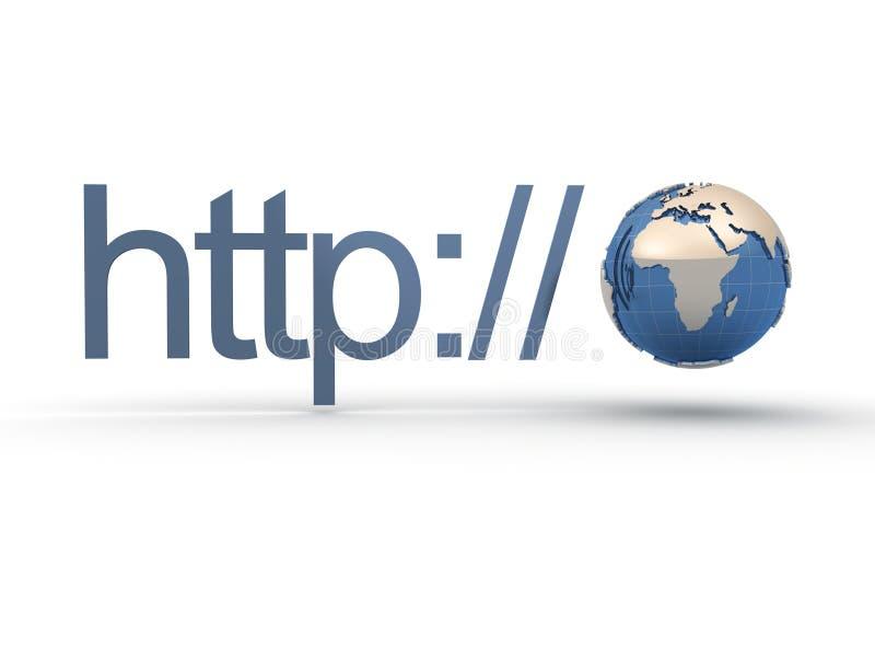 HTTP illustration libre de droits