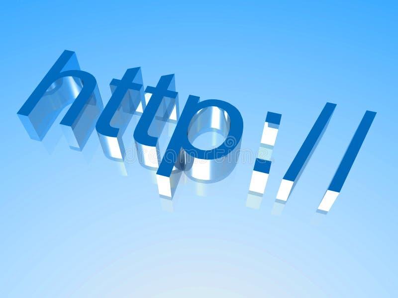 HTTP 3 vector illustratie