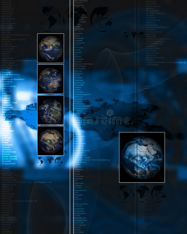 Download Http Layout 033 stock illustration. Image of connect, continents - 1408251