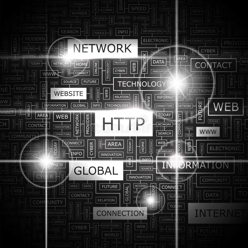 HTTP stock illustration