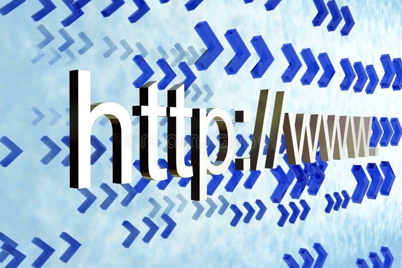 HTTP www stock illustratie