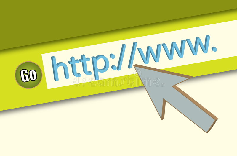 Download HTTP://WWW. Browser Closeup Stock Illustration - Image: 6348398