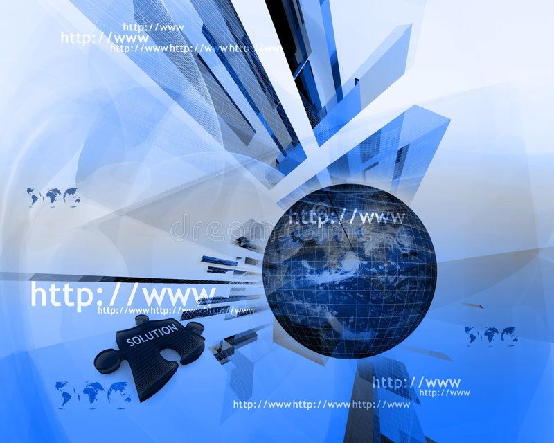 Http and www theme004 vector illustration