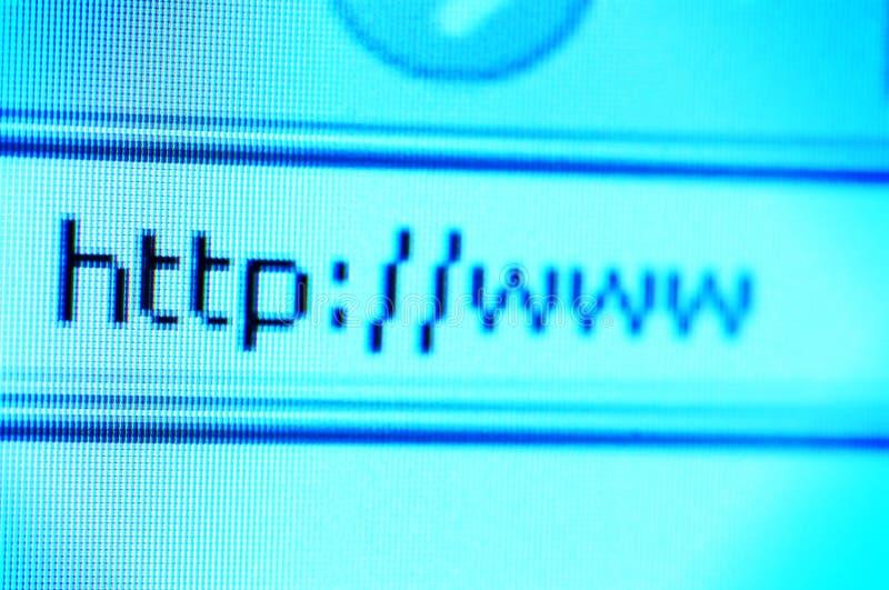 HTTP y WWW fotografía de archivo libre de regalías