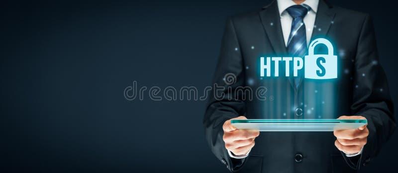 HTTPS-Konzept stockbild