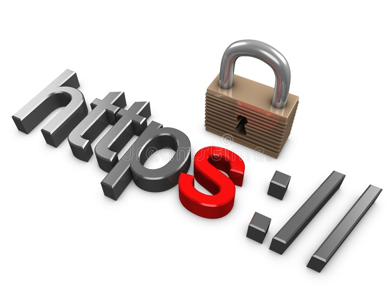 Download Https secure stock illustration. Image of payment, fraud - 7678808