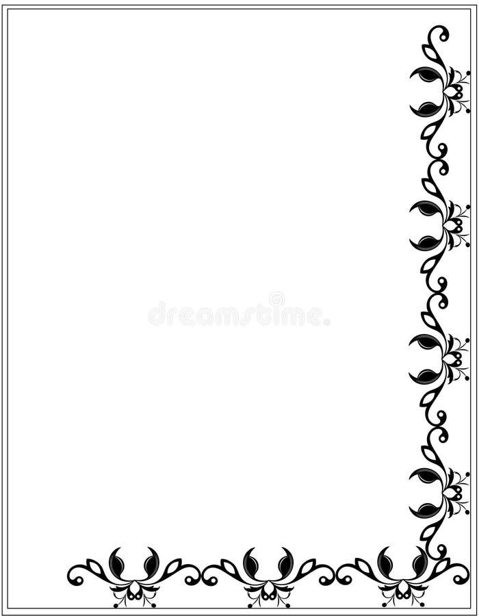 Huésped decorativo ilustración del vector