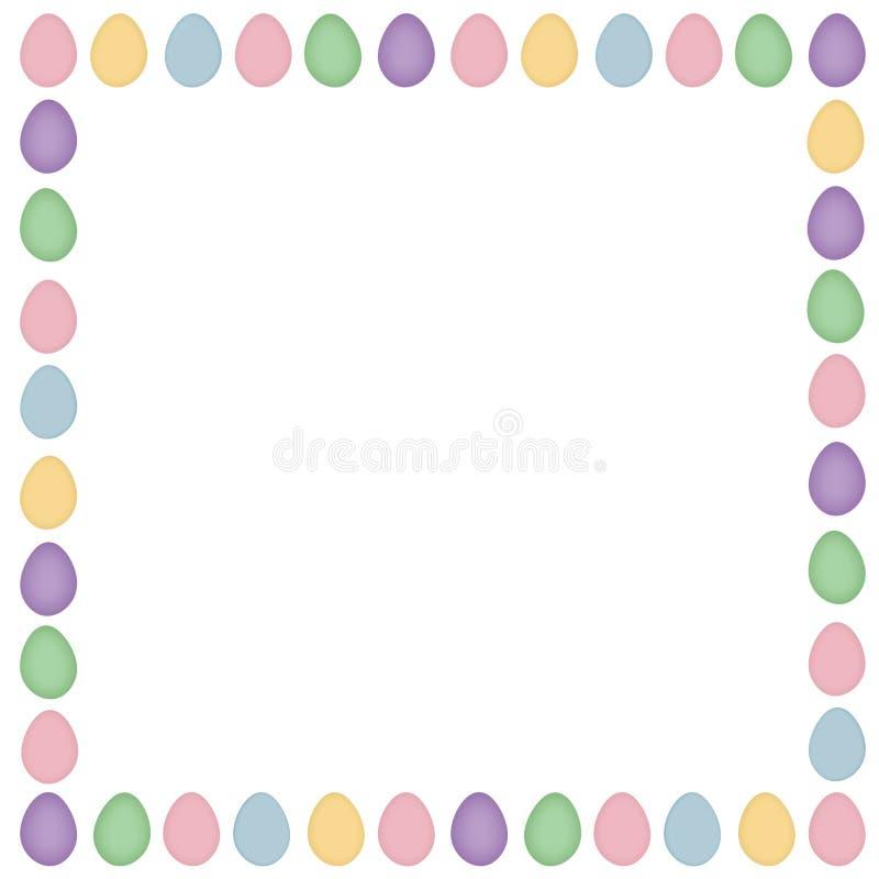 Huésped del huevo de Pascua stock de ilustración
