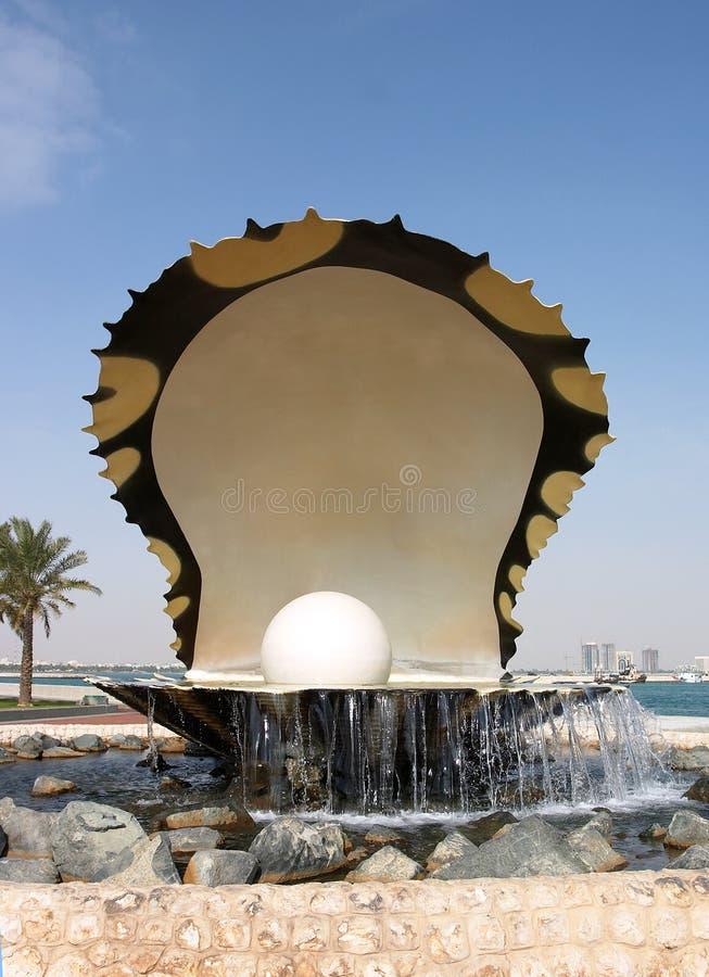 Download Huître et perle photo stock. Image du doha, pearling, monument - 65790