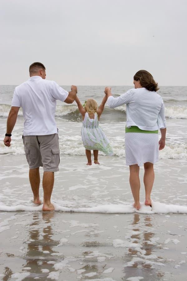 huśtać się na plaży obrazy stock