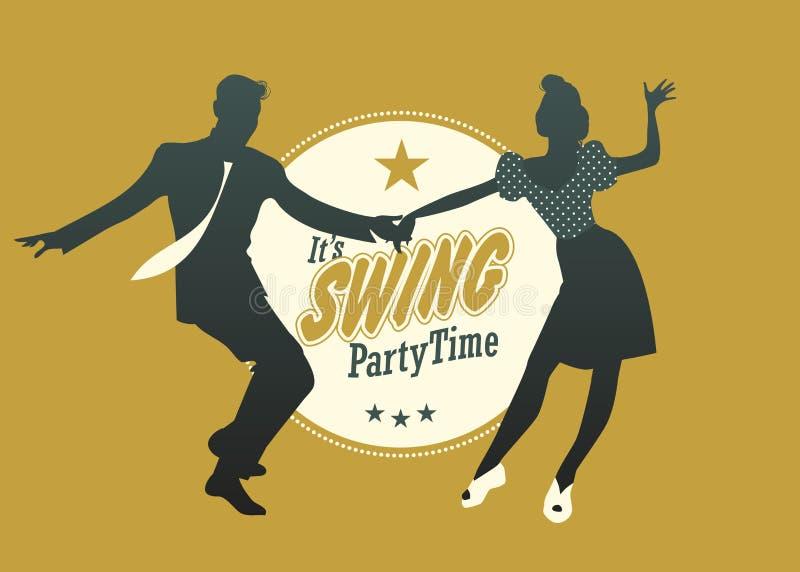 Huśtawkowy Partyjny czas obrazy royalty free