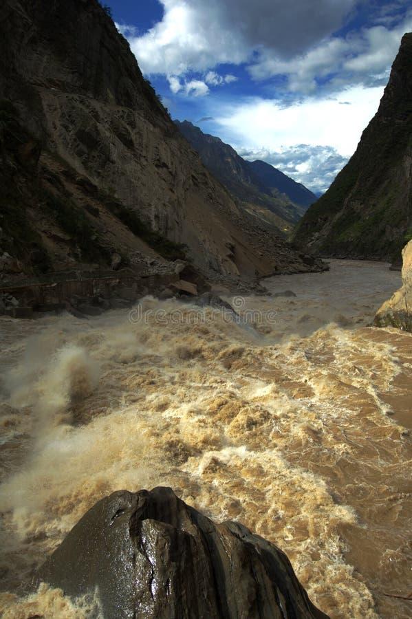 Hu Tiao (tiger Leaping) Gorge Stock Photo