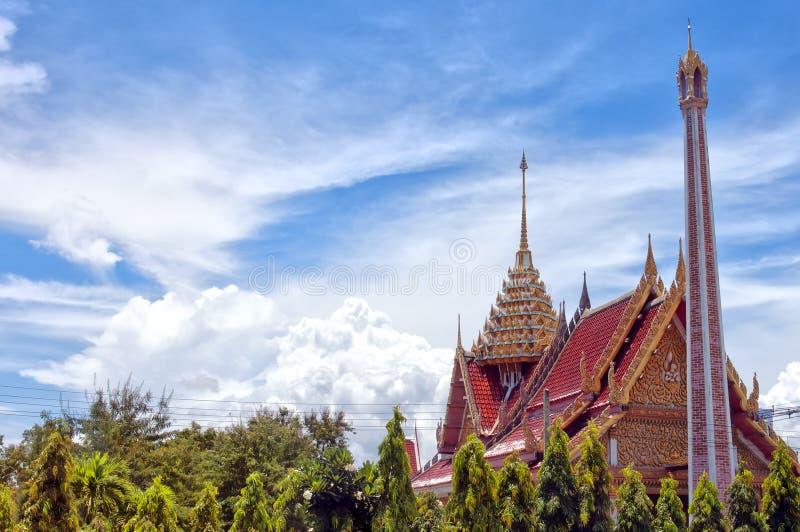 hua för 44 hin tempel royaltyfri fotografi